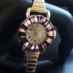 Vintage ladies Crescent wristwatch with Speidel